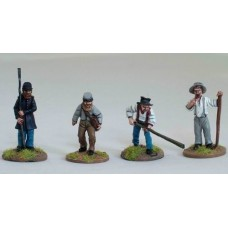 American Civil War Artillery Crew